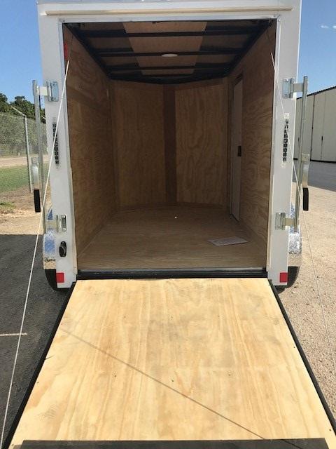CargoMate enclosed trailer ramp door