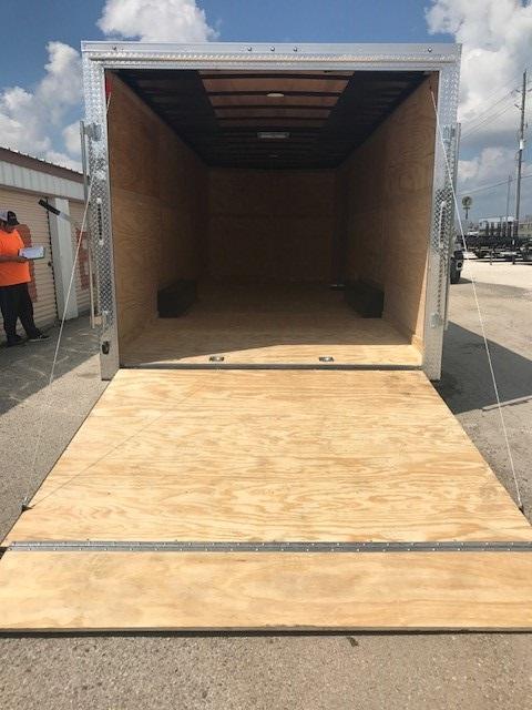 Cargomate Enclosed Cargo Trailer 8 5 X 24 White