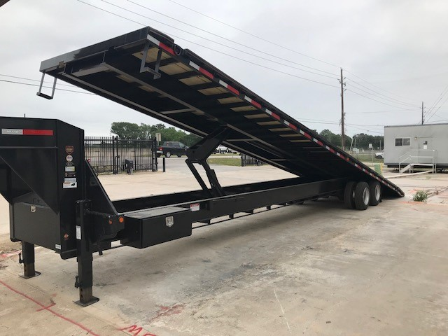 40 feet long tandem axle trailer