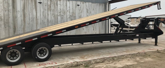 Maxxd Tdx 40 X102 Quot Flatbed With Tilt Bed Trailer World Katy